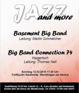 Plakat Jazz and more 2017